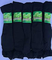 Носки женские капроновые чёрные