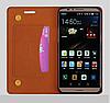 """Huawei MATE 9 оригинальный кожаный чехол кошелёк из натуральной телячьей кожи на телефон """"DARL GL"""", фото 8"""