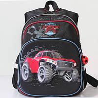 Школьный рюкзак для первоклассника : цвет черный