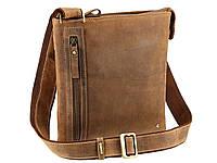 Мужская сумка через плечо Visconti 3946 коричневая