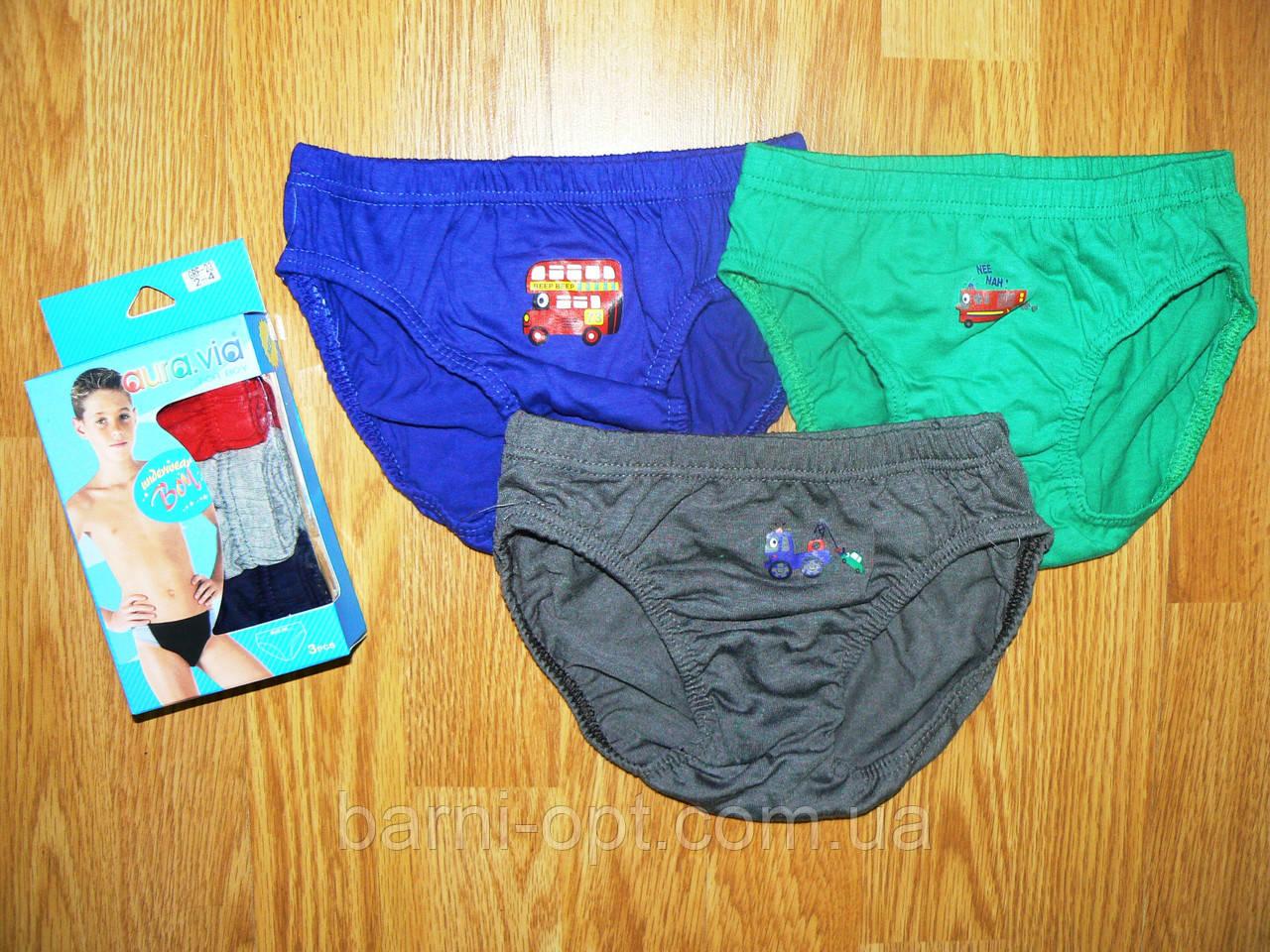 Трусики для мальчиков Aura.via 2-12лет