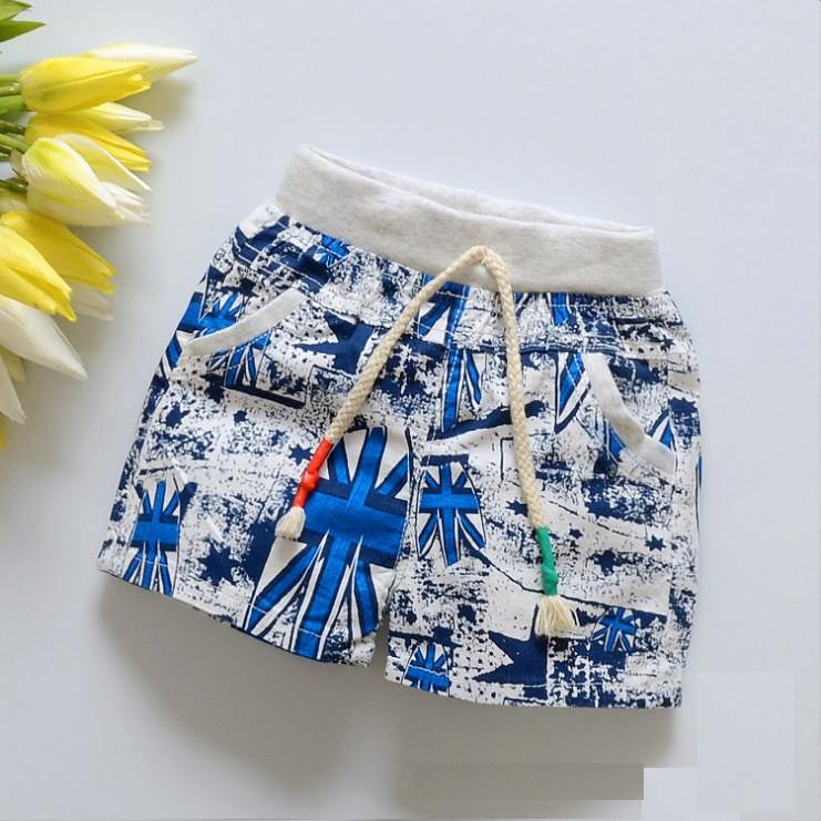 Детские летние шорты из хлопка для мальчика