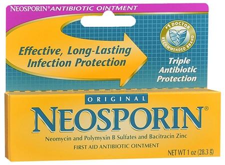Неоспорин, Neosporin, 28.3 грамма, Заживляющая Мазь