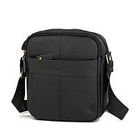 Мужская сумка через плечо TIDING BAG M38-1025A черная
