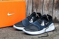 Мужские кроссовки Nike LunarCharge PREMIUM LE (Найк ЛунарЧардж) серо-белые