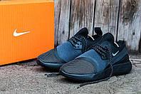 Мужские кроссовки Nike LunarCharge PREMIUM LE (Найк ЛунарЧардж) черно-сиреневые