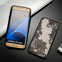 Силиконовая накладка с рисунком для Samsung J250F Galaxy J2 Pro (2018) (5 рисунков)