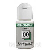 Нить ретракционная Gingi-pak (зеленая, эпинефрин) №00