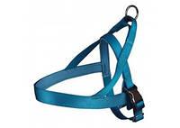 TRIXIE Experience Шлейка норвежская для собак, синий, 30-50cм, 25мм
