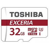 Карта памяти Toshiba microSDHC Exceria 32GB Class 10 UHS-I U1 R90MB/s 12 мес.