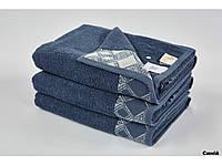 Полотенце махровое Arya Dinate синее