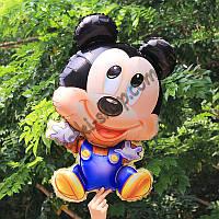 Фольгированные воздушные шары, форма: фигура малыш Микки Маус, 30 дюймов/74 см, 1 штука