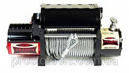 Лебедка со стальным тросом Dragon Winch DWM 12000 HDI, 12V
