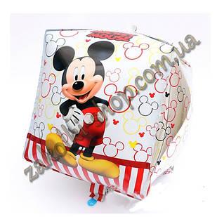 Фольговані кульки, форма: куб Міккі і Мінні Маус, 24 дюйма/60 см, 1 штука