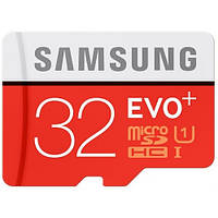 Карта памяти Samsung microSDHC 32GB Evo Plus UHS-I R80/W20MB/s 12 мес.