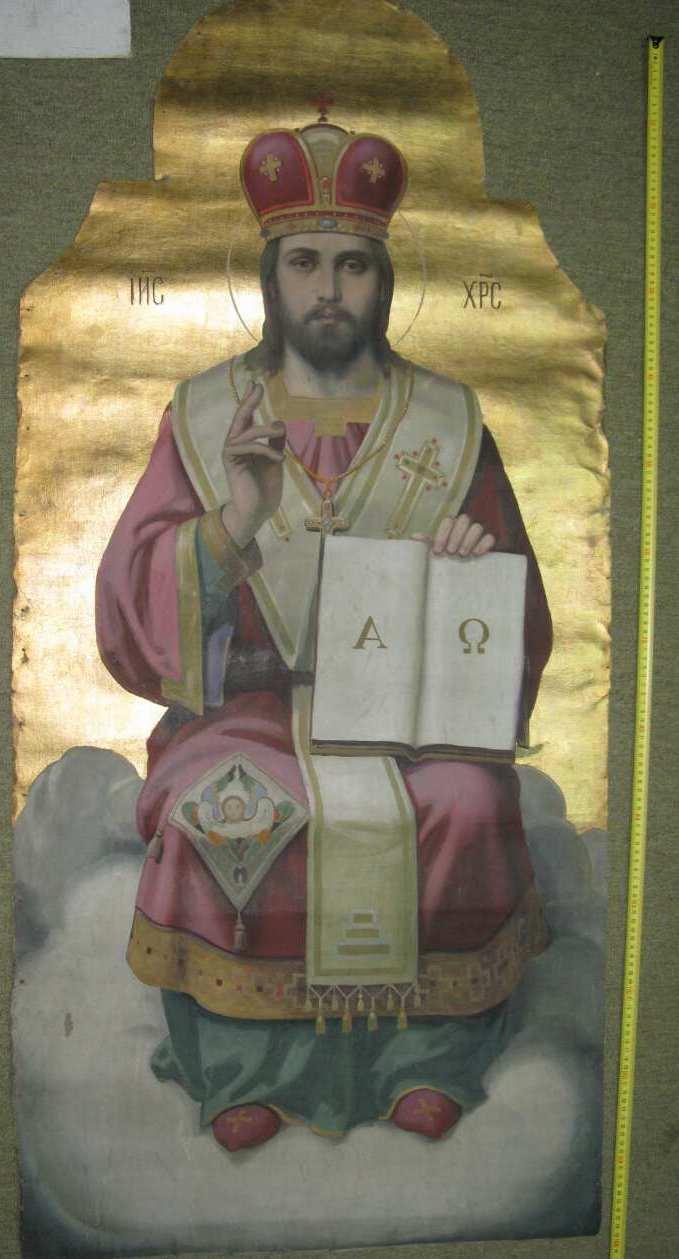 Иконостас авторства художника Антона Манастырского 1927 год