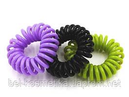 Резинки-спирали для волос
