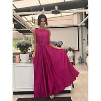 Длинное нежное платье из шелка   (разные расцветки)