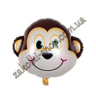 Фольговані кульки, форма: фігура Мавпочка, 24 дюйма/62 см, 1 штука