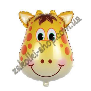 Фольговані кульки, форма: фігура Жираф, 24 дюйма/62 см, 1 штука