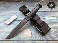 Нож нескладной Тактический 24100 с точилкой