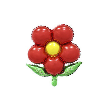 Фольговані кульки, форма: квітки з пелюстками, 18 дюйма/44 см, 1 штука