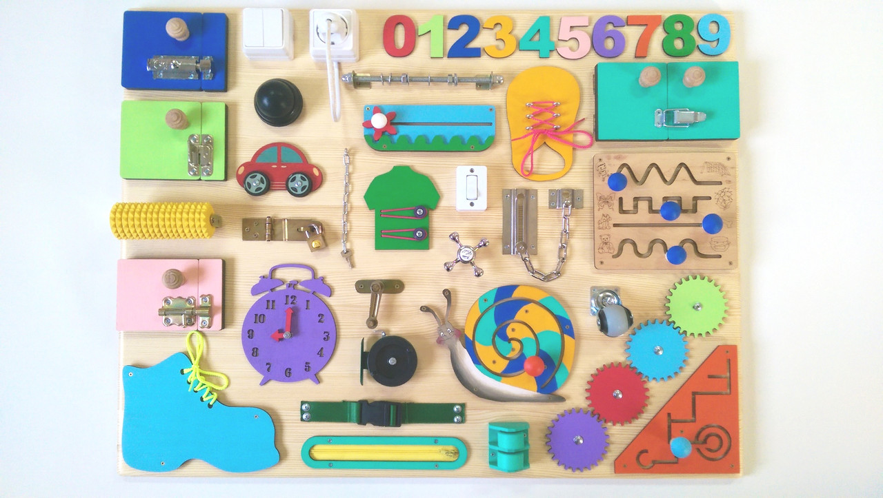 Бізіборд 60х80 Fun Board (6661)
