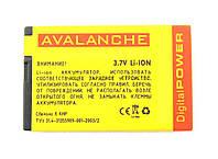 Avalanche АКБ Nokia Prem.E66/Asha 305/306/308/310/311/500 (4U) - 1100 мАч