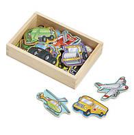 Фигурки на магнитах - Транспорт MD8588, Melissa&Doug, фото 1