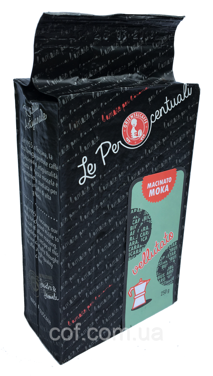 Кофе молотый Oriental Caffè Le Percentuali 70/30 Vellutato 250г