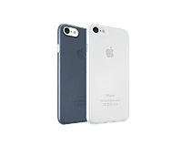 Чехол-накладка Ozaki O!coat 0.3 Jelly 2 in 1 for iPhone 7 Clear and Dark Blue (OC720CD)