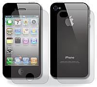 Защитная пленка iPhone 4/4S 2in1 (Матовая)