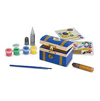 Сундук с сокровищами - оформительский набор MD18851, Melissa&Doug