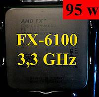 Процессоры (б/у) AMD FX-6100, 3,3-3,9ГГц, sAM3+, Tray  6120 6300 6200 6330