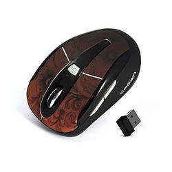Беспроводная мышь Crown CMM-927W Bluetooth Brown