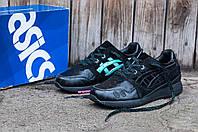 Мужские кроссовки Asics Gel Lyte IIIx Solefly (Асикс Гель Лайт) черный