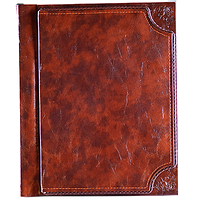 Фотоальбом с магнитными листами и книжным переплетом