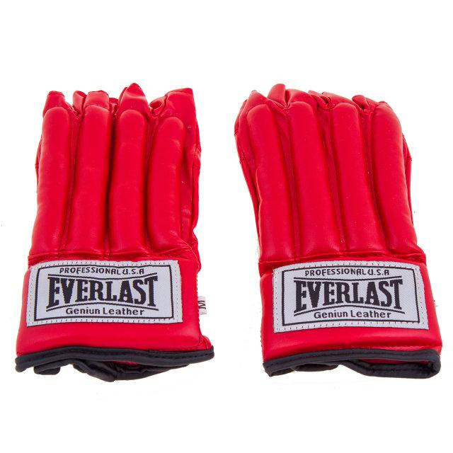 """Перчатки """"сосиски"""" Everlast красные. Распродажа! Оптом и в розницу!"""