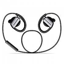 Bluetooth гарнитура ZEALOT H3 черная с контроллером музыкальная вакуумная телефонов смартфонов android iphone, фото 3