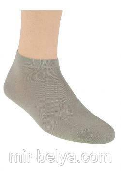 Носки мужски темно бежевого цвета
