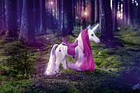Интерактивная лошадка для куклы Baby Born Единорог, светящийся рог  Interactive Unicorn