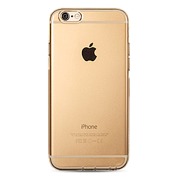 Чехол накладка Remax Crystal iPhone 6/6S Gold