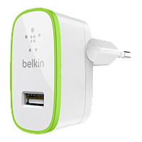 Сетевое зарядное устройство Belkin iPhone 4 2in1 1*USB 5V 2.1A white