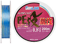 Шнур Sunline S-Cast PE Nagi Kyogi 200м #0.8/0.148мм 5.5кг