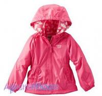 OshKosh Куртка розовая на девочку на флисе, Сердечко