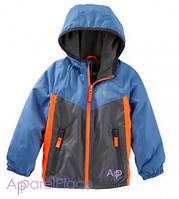 OshKosh Куртка синяя на мальчика на флисе, Active Jacket 0-24