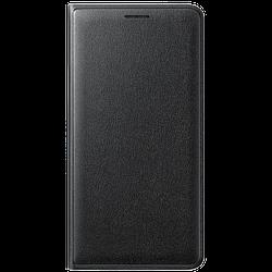 Чехол книжка Samsung J3 2016 EF-WJ320PBEGRU (Black)