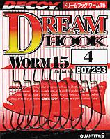 Крючок Decoy Worm 15 Dream Hook 1/0