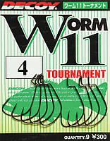 Крючок Decoy Worm 11 Tournament 2/0