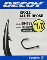 Крючок Decoy KR-22 Black Nickeled 4
